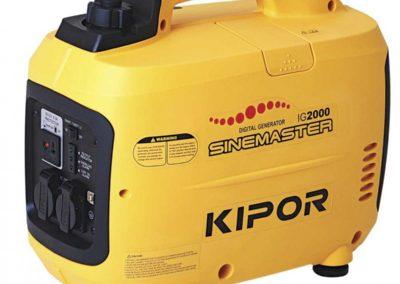 Benzinový elektro agregát KIPOR IG2000